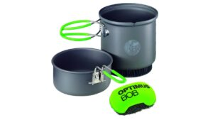 Podróżny zestaw naczyń Optimus Terra Weekend HE Cook Set, Non-Stick 0,95 L